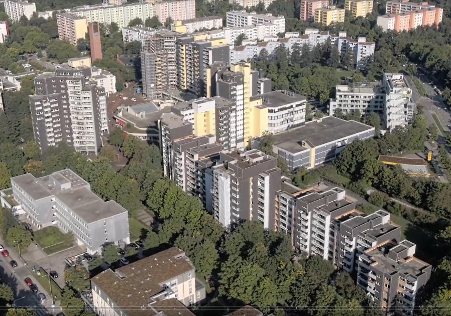 Luftbilder vom Karl-Marx-Ring und Umgebung